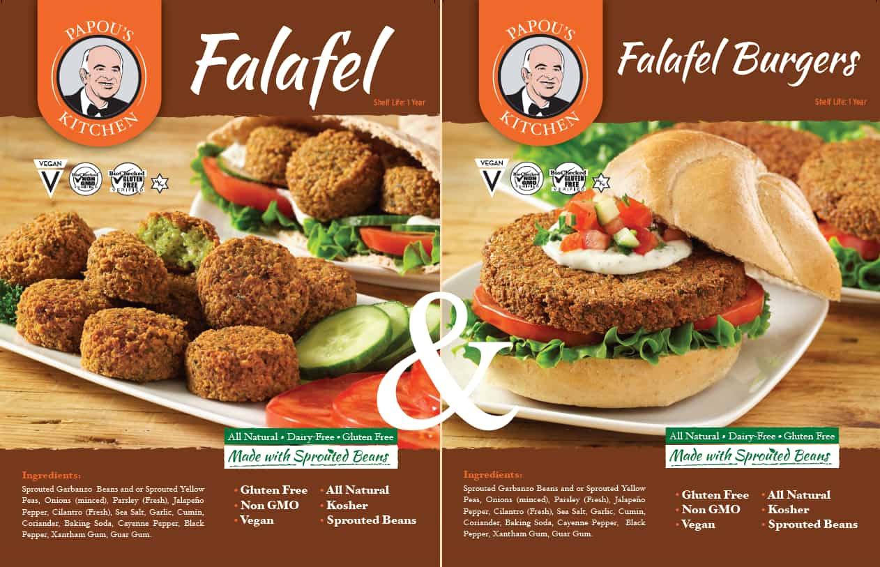 Get the delicious falafel delivered right to your home. Order online and choose from several offers. Free delivery. Freshly frozen. !00% organic, vegetarian, vegan, non-gmo, kosher, and gluten free!