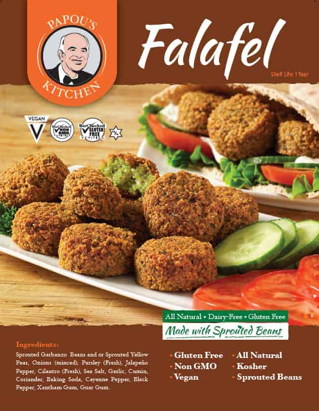 Get the delicious falafel delivered right to your home. Order online and choose from several offers. Free delivery. Freshly frozen. !00% organic, vegetarian, vegan, non-gmo, kosher, and gluten free! Falafels